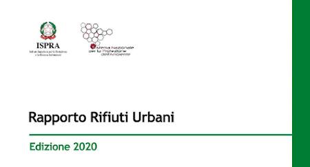Rapporto rifiuti urbani 2020